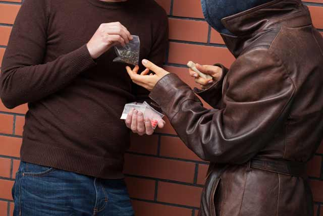 attention as students become drug peddlers